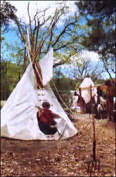 8' Tipi for the little ones